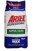 Стиральный порошок Ariel Professional Alpha, 15 кг для белого