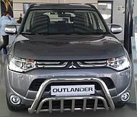 Кенгурятник на Mitsubishi Outlander (2012-2015) Митсубиси Аутлендер