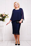 Вечернее платье Афелия большие размеры 50-58