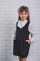 Школьный сарафан для девочки, фото 1