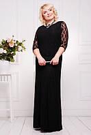 Вечернее длинное платье Бланка большие размеры 50-58