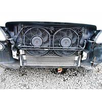 Диффузор с вентиляторами охлаждения радиатора кондиционера Mercedes-Benz Vito (Viano) Мерседес Вито Виано