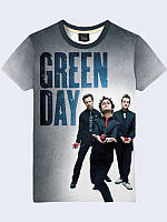Футболка 3D Group Green Gray