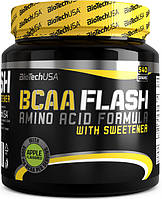 Аминокислоты BioTech BCAA Flash NEW!!!540 g apple БЦА