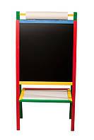 Доска магнитная для рисования 2-х сторонняя Komarovtoys М 404