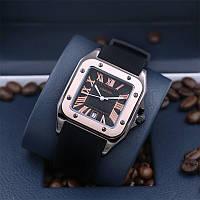 Часы женские Cartier Jubile на каучуковом ремешке, реплика