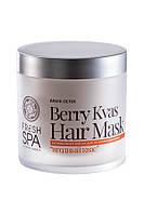 Маска для волос витаминная Ягодный квас Natura Siberica Fresh Spa Bania Detox 400мл