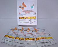 Набор - Маска для лица и шеи Dizao Золотая плацента (6 шт)
