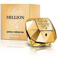 Женская оригинальная парфюмерная вода Lady Million Eau de Parfum от Paco Rabanne, 80мл NNR ORGAP /6-95