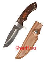 Нож охотничий  с деревянной рукояткой MIL-TEC 15385000