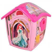 Домик детский INJUSA 20348 Принцессы игровой пластиковый проявляются рисунки 118-117-111см