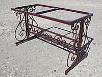 Стол садовый кованый