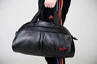 Сумка спортивная Nike мужская и женская красный логотип!