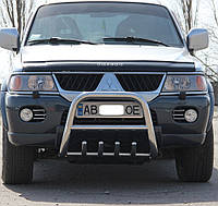 Кенгурятник на Mitsubishi Pajero Sport (1998-2008) Митсубиси Паджеро Спорт