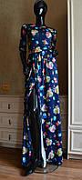 Женское платье в пол с разрезом  р. 42,44,46