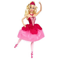 Кукла Барби Балерина Розовые туфельки