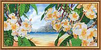 """Набор для вышивания бисером на холсте """"Гавайский бриз"""""""