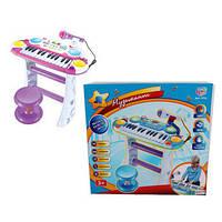 Пианино-синтезатор со стульчиком Limo Toy арт. 7235