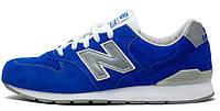 Женские кроссовки New Balance 996 (нью баланс) синие