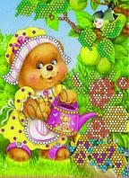 Схема для вышивки бисером Во саду ли в огороде КМР 5020