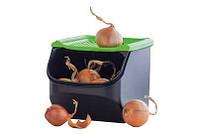 """Контейнер """"Дыхание"""" (3л) для хранения лука,картофеля,чеснока,свеклы и др."""