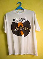 Белая футболка Wu Tang clan JHK размер L