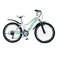"""Подростковый спортивный велосипед PROFI Grand 24"""" (G24K329-1) WHITE, алюминиевый"""