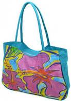 Красива пляжная сумка Podium 1330 blue, синий