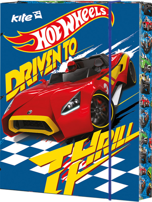 Папка для труда Hot Wheels HW16-213