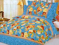 Великолепный двуспальный комплект постельного белья бязь 1,8 4355 разноцветный