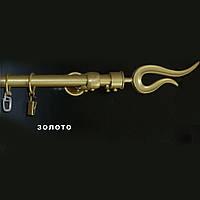 "Карниз металлический ""Plastidea"" КМ - 1 золото"
