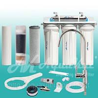 Фильтр под мойку четырёхступенчатый c UV установкой FP-3-UV