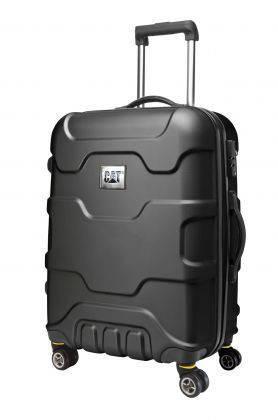 Противоударный чемодан малый на 4-х колесах 47 л. CAT 82993 металлик; черный; бронзовый