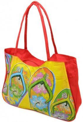 Пляжная сумка на молнии Podium 1327 red, красный