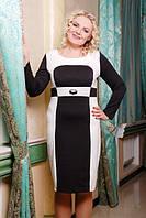 Трикотажное платье Октава большие размеры 50-56