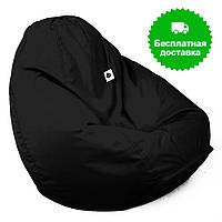 Кресло груша-мешок черное размер L