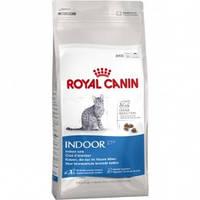 Royal Canin Indoor 27 корм для взрослых кошек не покидающих помещение 2 кг