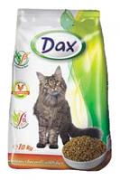 Dax птица с овощами сухой корм для котов 10 кг