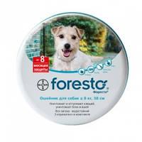 Foresto Bayer (Форесто) ошейник от блох и клещей для собак и котов 38 см