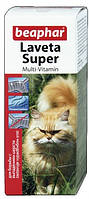 Laveta Super For Cats — Витамины для шерсти кошкам лавета, Beaphar 125241