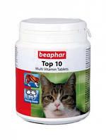 Top 10 For Cats — Пищевая добавка для кошек, с таурином, Beaphar 103959