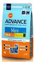 Advance Dog Mini Adult - сухой корм для взрослых собак мелких пород 7,5 кг