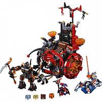 Игрушка Nexo Knights 14005 Джестро-мобиль, 2 фигурки, Книга Монстров, циклоп с оружием
