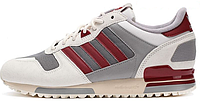 Женские кроссовки Adidas ZX 700 (aдидас ZX) белые