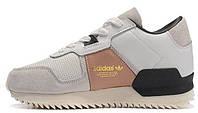 Женские кроссовки Adidas ZX 700 Remastered (aдидас ZX) белые