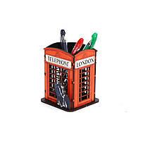 Телефонная будка  (конструктор, декорирована принтом)