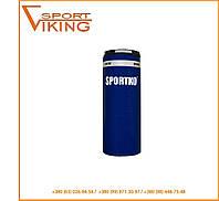 Мешок боксёрский ПВХ вес 15 кг груша боксерская с кольцом