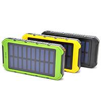 Солнечное зарядное устройство Solar Power Bank 15000 mAh , портативная зарядка от солнца MG-15