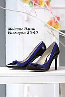 Туфли на шпильке с бантом., фото 1