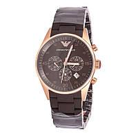 Мужские часы Emporio Armani цвет коричневый, класс ААА